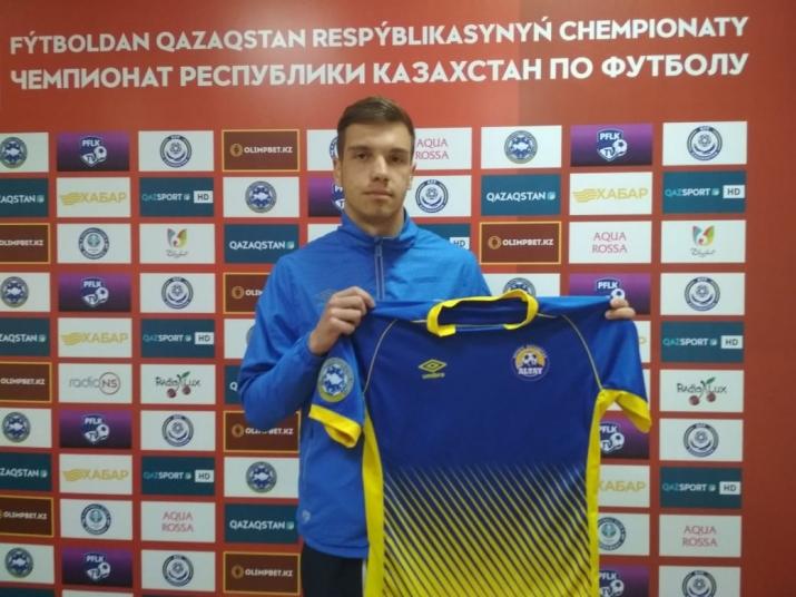 Официально: Воспитанник усть-каменогорского футбола продлил контракт с «Алтаем»